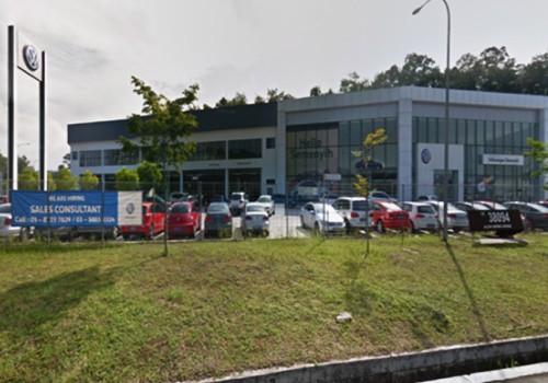 Volkswagen showroom at Sunway Semenyih, Hulu Langat