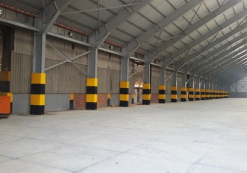 Warehouse at Dry Bulk Terminal